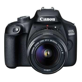 Photo of دوربین دیجیتال کانن مدل EOS 4000D به همراه لنز ۱۸-۵۵ میلی متر DC III و لوازم جانبی
