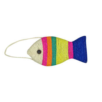 Photo of اسکرچر گربه طرح ماهی کد ۹۱۳