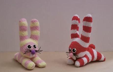 آموزش ساخت عروسک خرگوشی