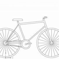 طراحی دوچرخه در اتوکد